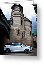 Citroen Ds5 Greeting Card