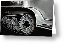 Citroen Half Track - Automobile  Greeting Card