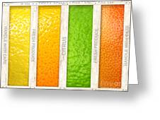 Citrus Greeting Card by Cristophers Dream Artistry