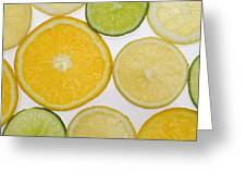 Citrus Slices Greeting Card by Kelly Redinger