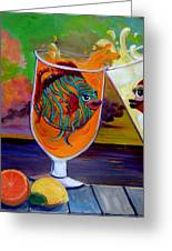 Citrus Sunset Greeting Card