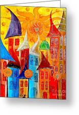 City 531-11-13 Marucii Greeting Card