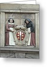 city arms of Gouda Greeting Card
