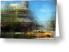 City-art Miami Beach Greeting Card