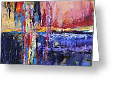 City By The Sea 1 Greeting Card