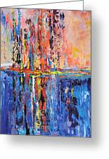 City By The Sea 2 Greeting Card