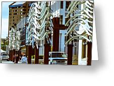 City Center-11 Greeting Card