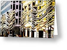 City Center-8 Greeting Card