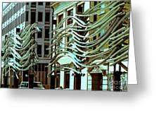 City Center-9 Greeting Card