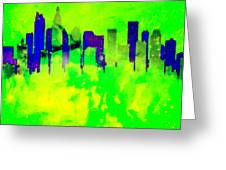 City Colors Greeting Card
