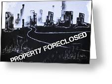 City For Sale Greeting Card