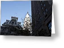 City Hall At Market Street Greeting Card