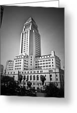 City Hall. Greeting Card