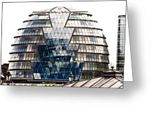 City Hall London Greeting Card by Christi Kraft