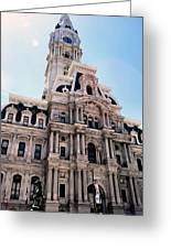 City Hall Philly Greeting Card