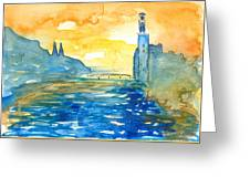 City Hall Stockholm Greeting Card