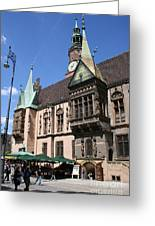 City Hall Wroclaw Greeting Card