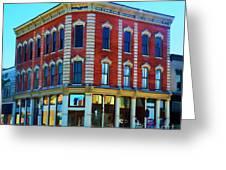 City - Hannibal Missouri - Mark Twain- Luther Fine Art Greeting Card