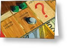 City Island Monopoly Iv Greeting Card