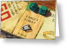 City Island Monopoly Vii Greeting Card
