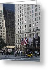 City Life - New York City Greeting Card