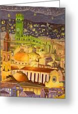 City Light Star Light Greeting Card