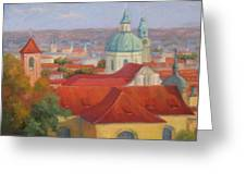 City Of A Thousand Spires Greeting Card