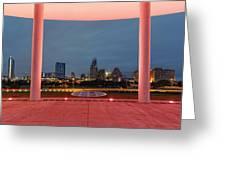 City Of Austin Framed Greeting Card