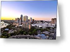 City Of Austin Texas Greeting Card