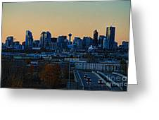 City Of Calgary Greeting Card