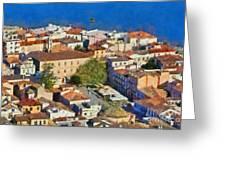 City Of Nafplio Greeting Card