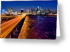 City Of Philadelphia Greeting Card