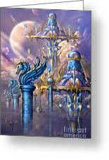 City Of Swords Greeting Card
