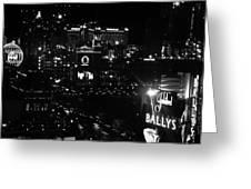 City Of Vegas 2008 Greeting Card