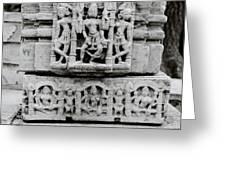 City Palace Apsara Dancers Greeting Card