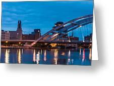 City Reflections IIi Greeting Card