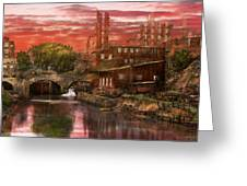 City - Richmond Va - After The Fighting Stopped - 1865 Greeting Card