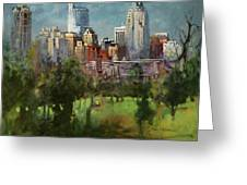 City Set On A Hill Greeting Card