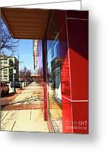 City Sidewalk Greeting Card