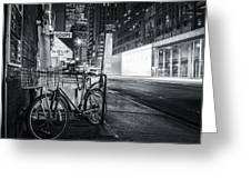 City That Never Sleeps Greeting Card