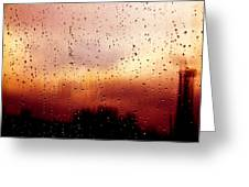 City Window Greeting Card