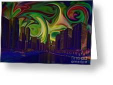 City World Greeting Card