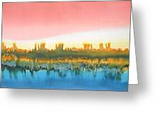 Citylights Greeting Card