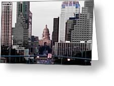 Cityscape 28 B Austin Greeting Card