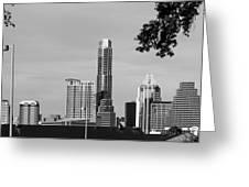Cityscape 28 C Austin Greeting Card