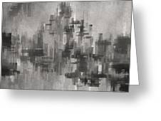 Cityscape 3 Greeting Card