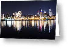 Cityscape - Philadelphia Greeting Card