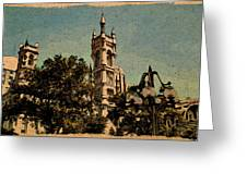 Cityview Greeting Card