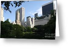 Cityview Form Central Park Greeting Card