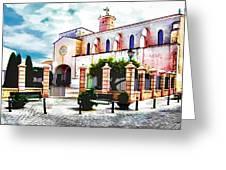 Ciutadella Church Greeting Card